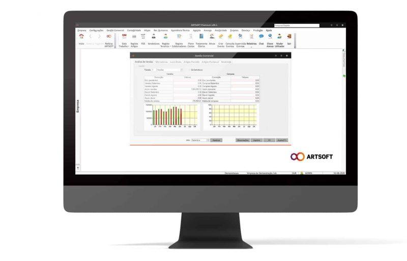 Analise Financeira Balanco Software ARTSOFT