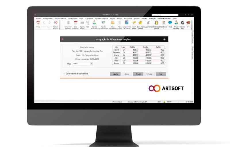 Ativos Gestao Software ARTSOFT