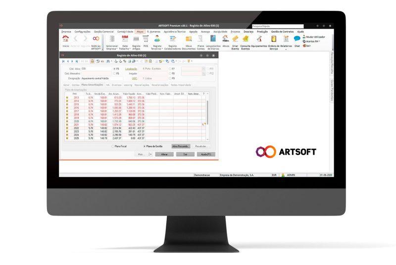 Ativos Software Gestao ARTSOFT