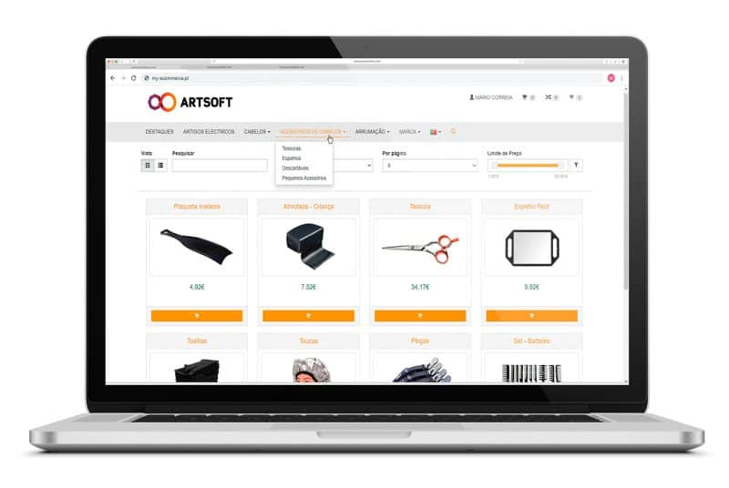 Ecommerce Software Gestao ARTSOFT