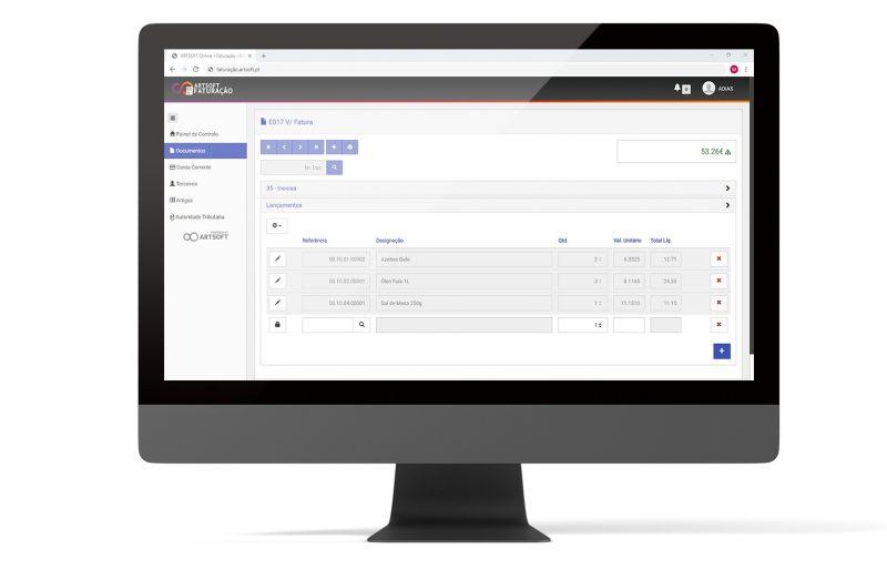 Faturacao Online Efatura Software ARTSOFT