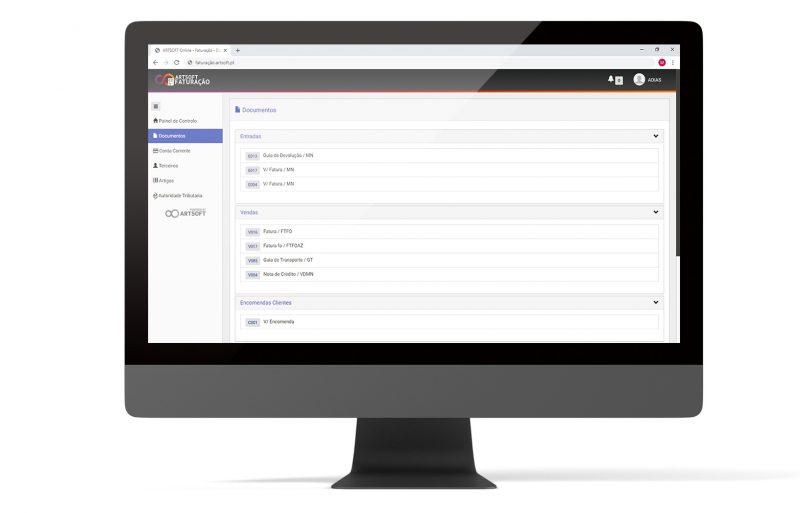 Faturacao Online Efatura Web ARTSOFT