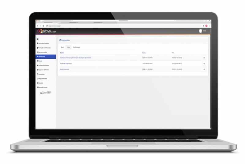 Portal-Colaborador-Software-Recursos-Humanos-Formacao-ARTSOFT
