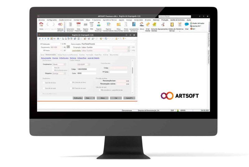 Cartoes Refeicao Salarios Software ARTSOFT
