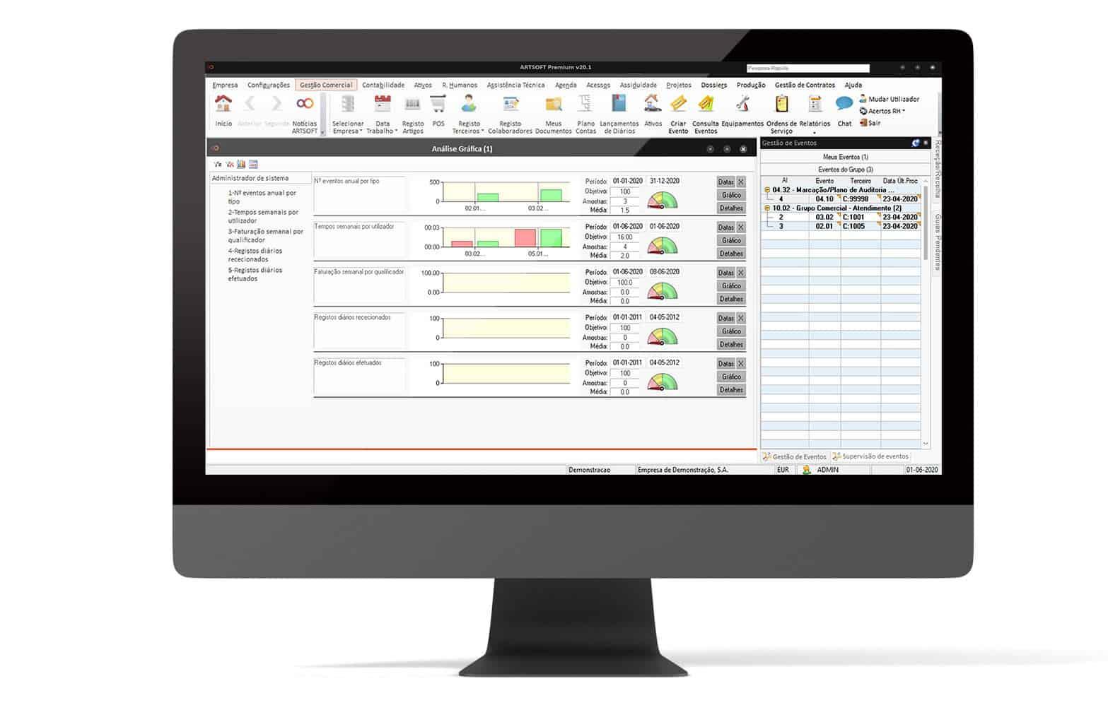 Business Process Management ARTSOFT - ERP Software em Portugal