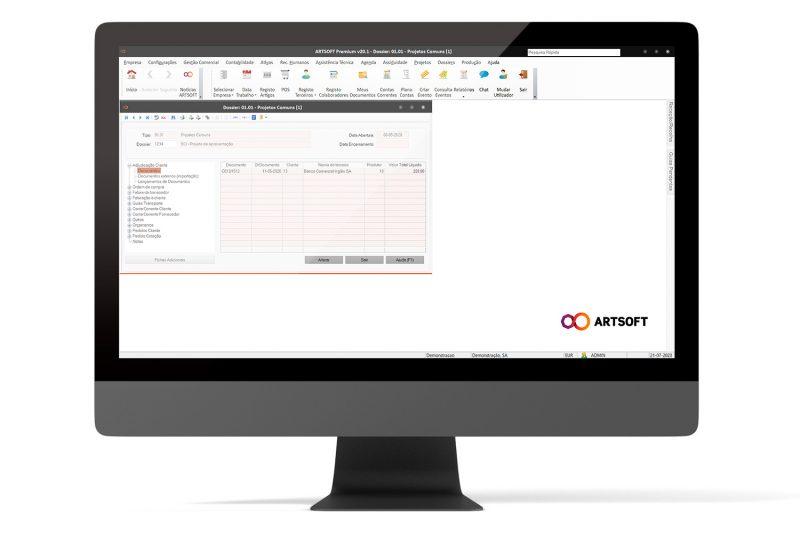 Dossiers Software ARTSOFT