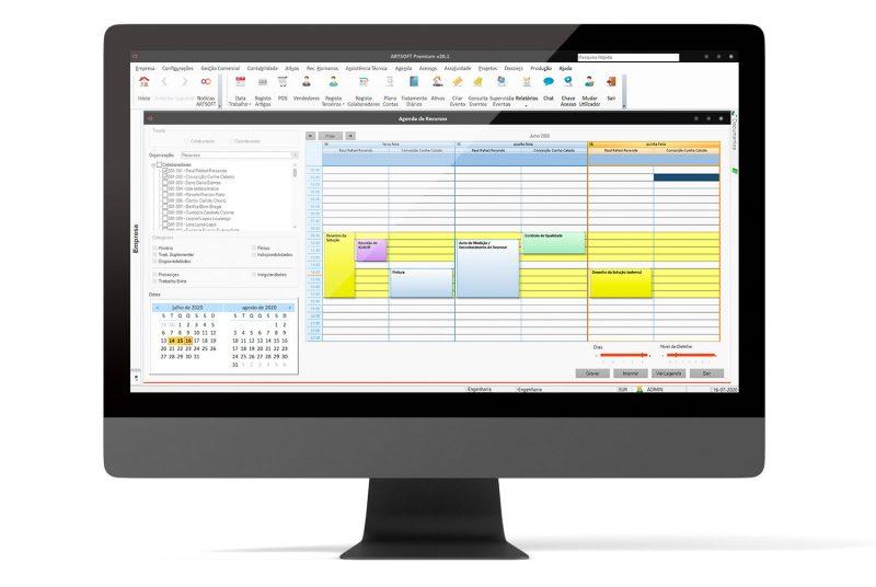 Software de Projetos ARTSOFT