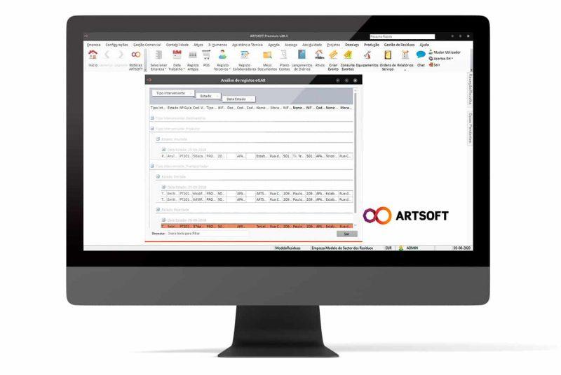 Gestao Residuos Software EGAR ARTSOFT