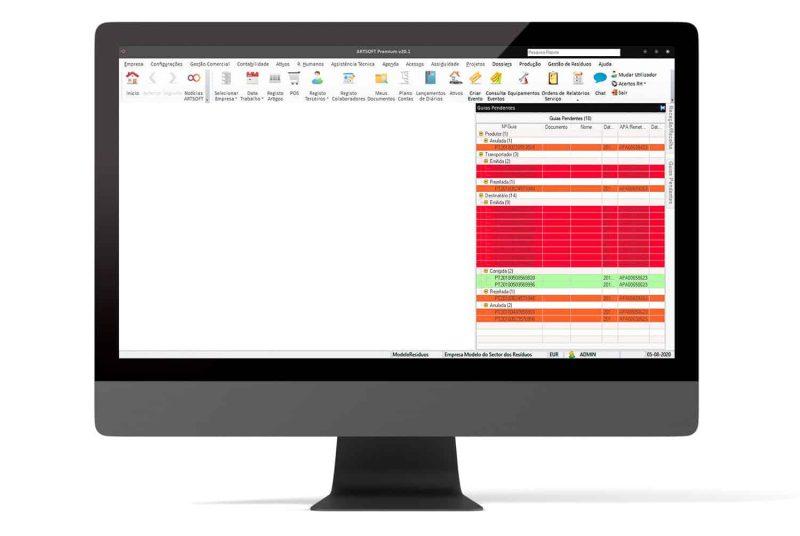 Gestao Residuos Software Produtores ARTSOFT