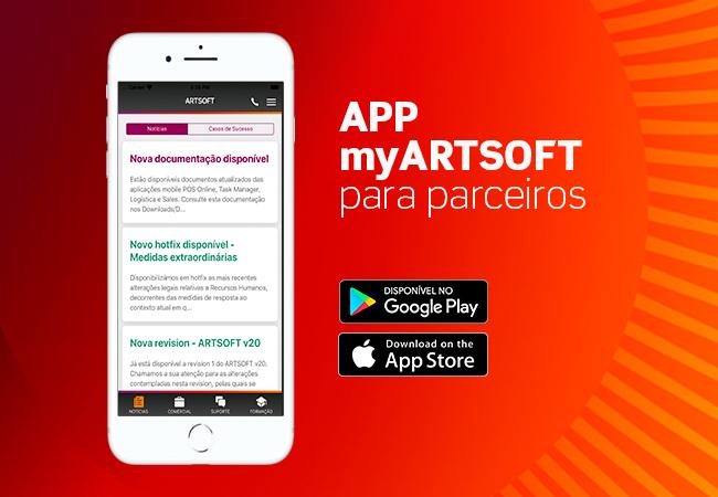 Aplicação Móvel ARTSOFT para parceiros