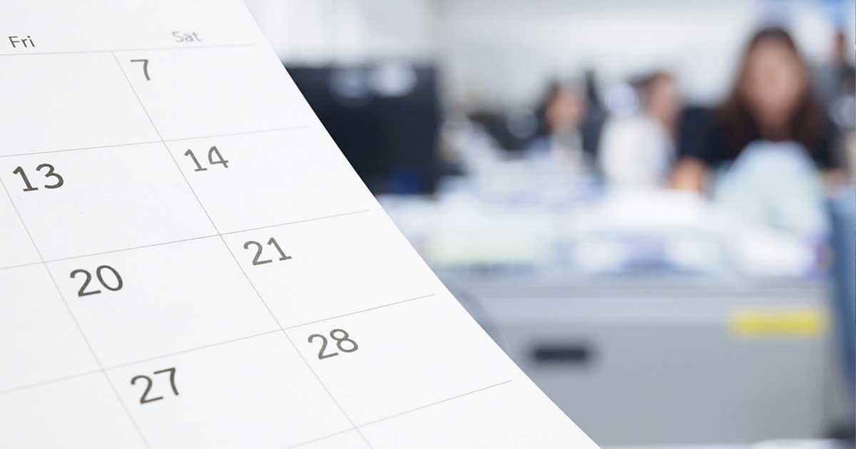 Principais obrigações fiscais para este mês