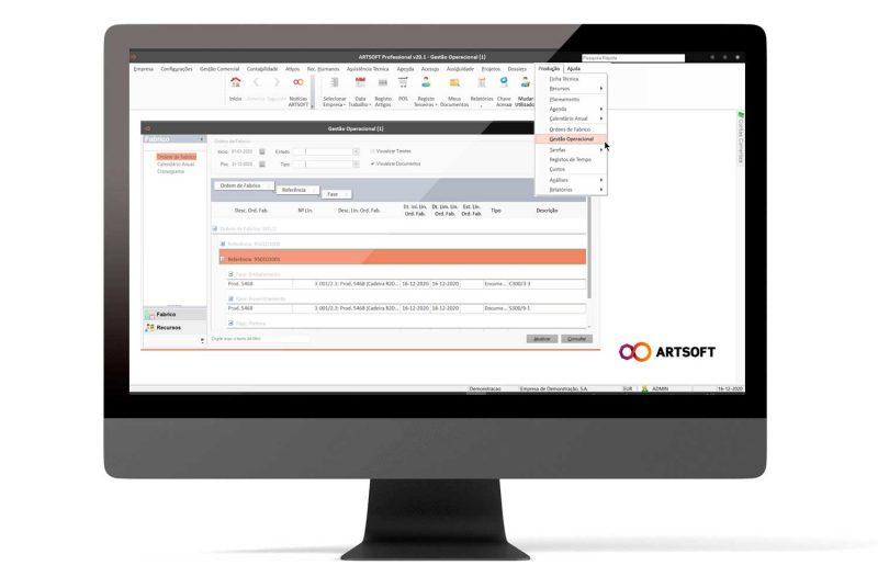 Software de Produção MRP ARTSOFT