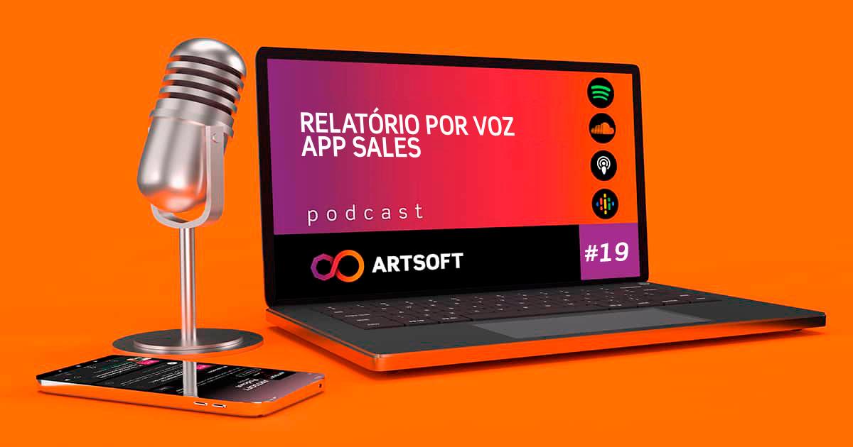 Relatórios sobre clientes utilizando a Voz e a app ARTSOFT Sales