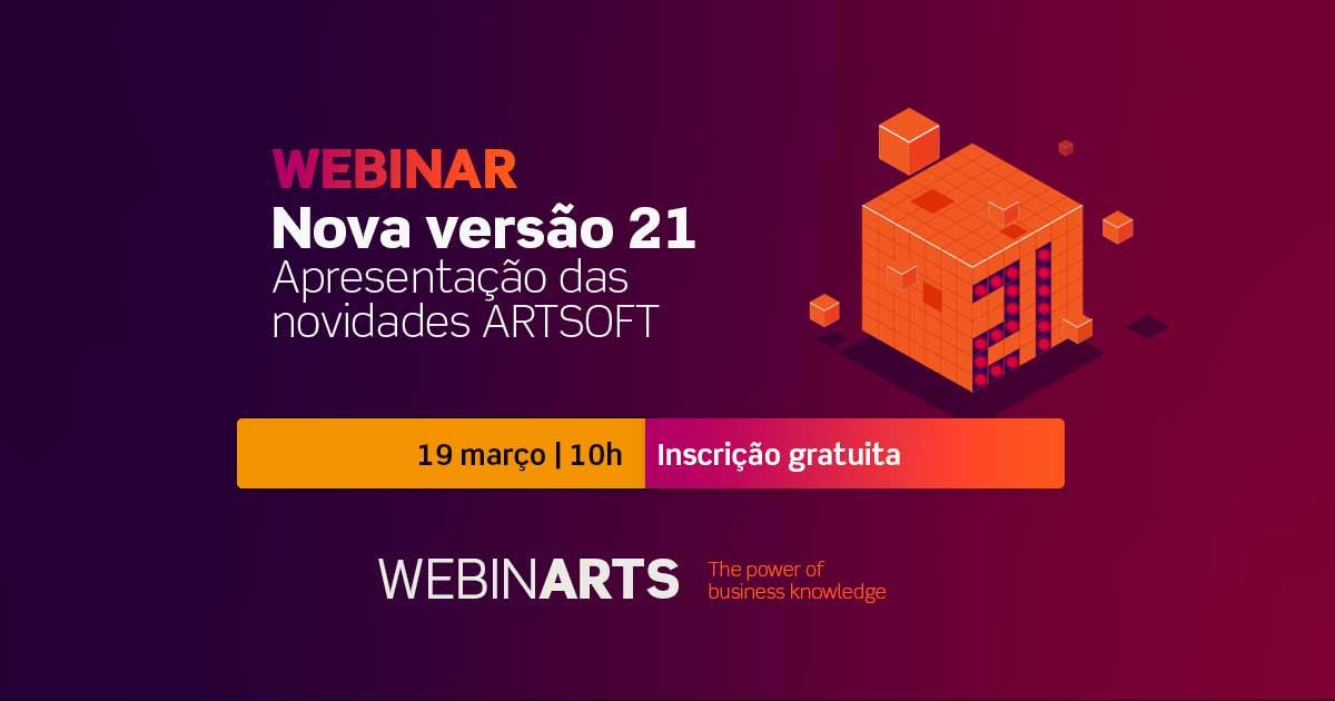 Webinar Nova versão ARTSOFT 21