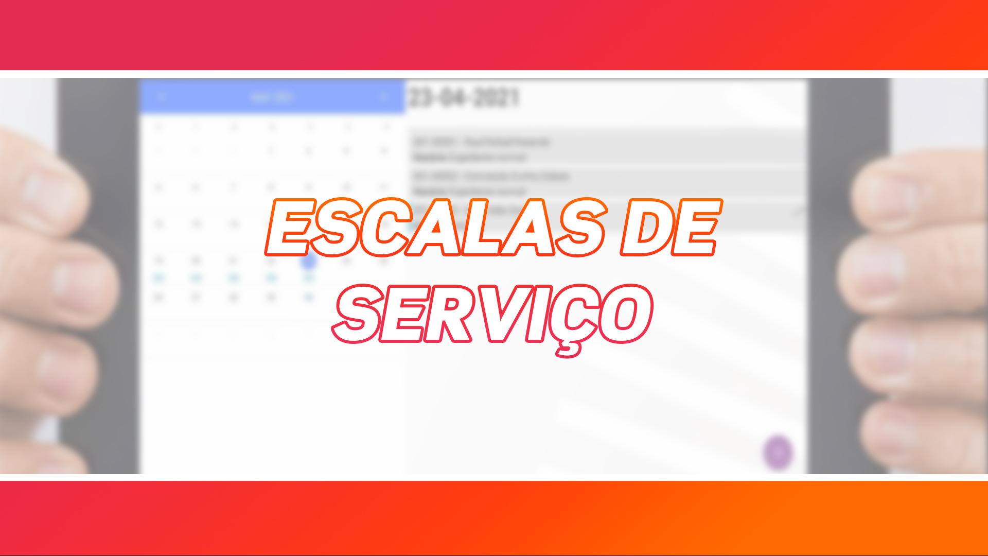 Escalas de Serviço | App TaskManager