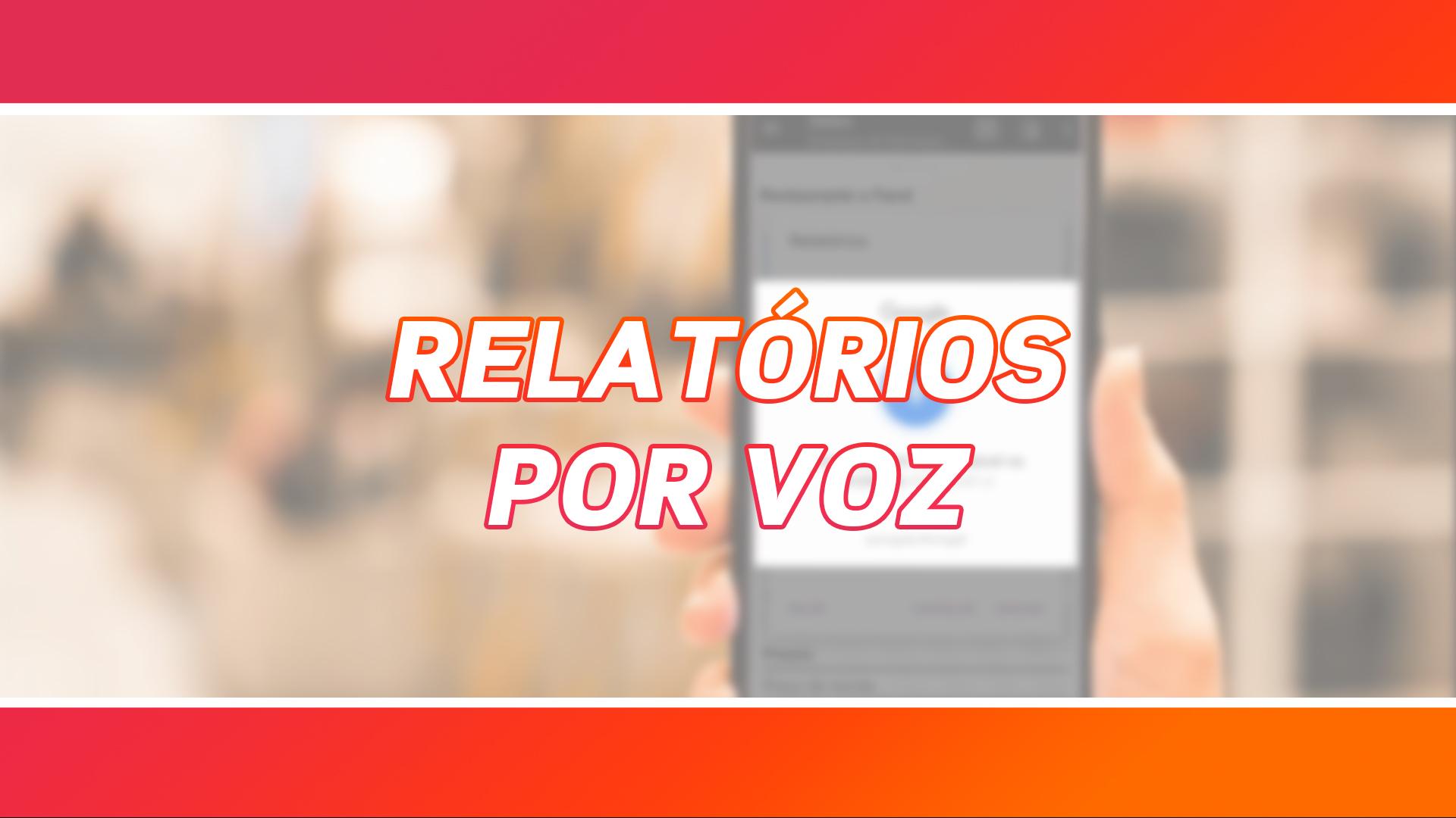 Relatórios por Voz | App Sales