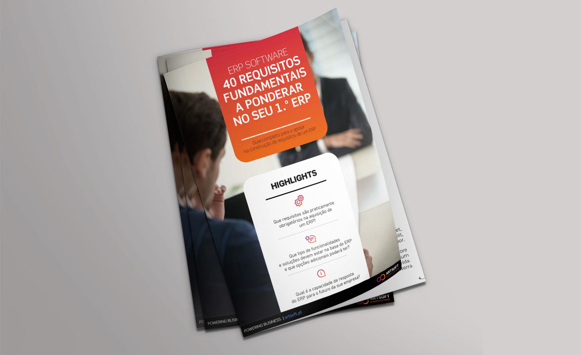 e-Book 40 requisitos fundamentais a ponderar no seu 1.º ERP